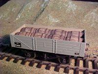 Ten Commandments - Hogshead Barrel Wagon Load 7mm