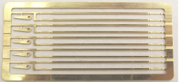 Cambrian Models C300 - Etched tie bars for 12' wb wagons