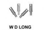 Markits - 4mm Handrail Knobs (W.D. Long) Pack 12