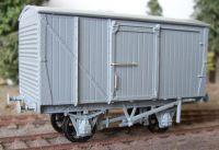 Cambrian Model Rail C102 - LMS 12 Ton Van Kit (Unventilated
