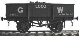 Cambrian Model Rail C02 - GWR 10 Ton Loco Coal Wagon