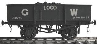 Cambrian Model Rail C02 - GWR 10 Ton Loco Coal Wagon