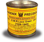 Phoenix Precision - GWR Loco Green (1928-1945) Dull