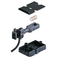 Kadee 740 - Type E Medium Centerset Metal Couplers with Metal Gearboxes - Black - O Scale