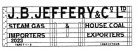 Modelmaster Private Owner 4mm Decals - J.B. Jeffrey & Co Ltd