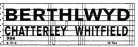 Modelmaster Private Owner 4mm Decals - Berthlwyd Chatterley Whitfield