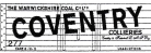 Modelmaster Private Owner 4mm Decals - Coventry, Warwickshire Coal Company