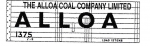 Modelmaster Private Owner 4mm Decals - Alloa Coal Company