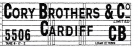 Modelmaster Private Owners 4mm Decals - Cory Brothers Cardiff