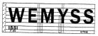 Modelmaster Private Owner 4mm Decals - Wemyss Fife