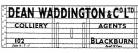 Modelmaster Private Owner 4mm Decals - Dean Waddington Blackburn