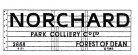 Modelmaster Private Owner 4mm Decals - Norchard Forest of Dean