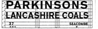Modelmaster Private Owner 4mm Decals - Parkinsons Lancashire Coals