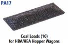 Parkside Models PA17 - Coal Loads For HBA/HEA Hopper Wagons (Bachmann, Dapol, Replica) (10)