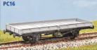 Parkside Models PC16 - LNER 20 Ton Plate Wagon 1940