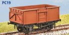 Parkside Models PC19 - BR 16 Ton Mineral Wagon (Vacuum Fitted) Decals Included