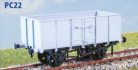 Parkside Models PC22 - BR 16 Ton Mineral Wagon (French Type)