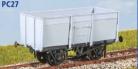 Parkside Models PC27 - BR 16 Ton Mineral Wagon (Slope Sides)