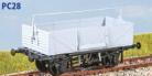 Parkside Models PC28 - BR Shock Absorbing Open Wagon