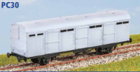 Parkside Models PC30 - LNER Extra Long CCT (4 Wheel) Decals Included