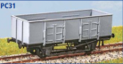 Parkside Models PC31 - LNER 21 Ton Loco Coal Wagon (Decals Included)