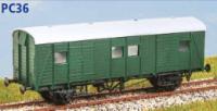 Parkside Models PC36 - Southern Railway (ex SECR) PMV Parcels Van (Decals Included)