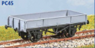 Parkside Models PC45 - BR 13 Ton Medium Goods Wagon - Steel Body (Diag. 1/019) Decals Included