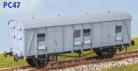 Parkside Models PC47 - Southern Railways CCT Parcels Van - Plywood Sides