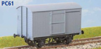 Parkside Models PC61 - LNER 12 Ton Goods Van (Diag. 94) Decals Included