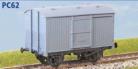 Parkside Models PC62 - LNER 12 Ton Fruit Van (Diag. 106) Decals Included
