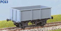 Parkside Models PC63 - BR 26 Ton Iron Ore Tippler (Diag. 1/185) Decals Included