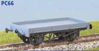 Parkside Models PC66 - LNER 12 Ton Low Sided Wagon 'Lowfit' (Diag. 1/109) Decals Included