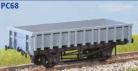 Parkside Models PC68 - BR 'Clam' 21 Tonne Ballast Wagon