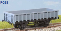 Parkside Models PC68 - BR 'Clam' 21 Tonne Ballast Wagon (Decals Included)