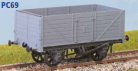 Parkside Models PC69 - 7 Plank Coal Wagon. RCH 1923