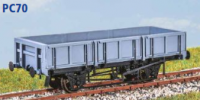 Parkside Models PC70 - BR 'Rudd' 21 Tonne Ballast Wagon (Decals Included)