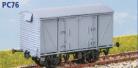 Parkside Models PC76 - BR VEA Van (ex Vanwide) with FAT 19 Suspension (Decals Included)