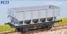 Parkside Models PC77 - BR 21 Ton Coal Hopper 1/146 (Decals Included)