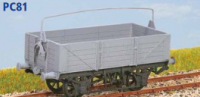 Parkside Models PC81 - GWR 10 Ton Open Goods Wagon O11/15 (Decals Included)