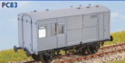 Parkside Models PC83 - LNER Horse Box 5 (Decals Included)