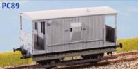Parkside Models PC89 - LNER 20 Ton Goods Brake Van Toad E Diag 64 (Decals Included)