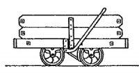 Rodney Stenning 009 - C22 Corris Railway Tie Rod Slate Wagon