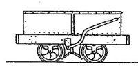 Rodney Stenning 009 - C30 Talyllyn Railway (ex Corris) End Door Wagon