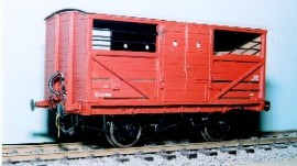 Parkside Models PS106 - LNER 10 Ton Vacuum Braked Cattle Truck