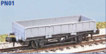 Peco N Gauge Wagon Kit (Ex Parkside PN01) - BR 'Grampus' Engineers Wagon