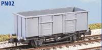 Peco N Gauge Wagon Kit (EX Parkside PN02) - BR 24.5 Ton Mineral Wagon
