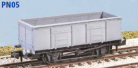 Peco N Gauge Wagon Kit (EX Parkside PN05) - GWR 20 Ton Coal Wagon (N24)
