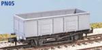 Peco N Gauge Wagon Kit (EX Parkside PN05) - GWR 20 Ton Coal Wagon (N24)