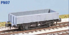 Peco N Gauge Wagon Kit (EX Parkside PN07) - BR 12 Ton Pipe Wagon