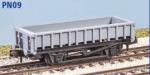 "Peco N Gauge Wagon Kit (EX Parkside PN09) - BR ""Clam"" 21 Tonne Ballast Wagon"